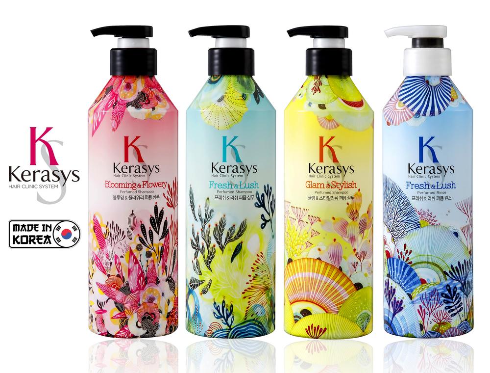 Kerasys коллекция Perfumed Line