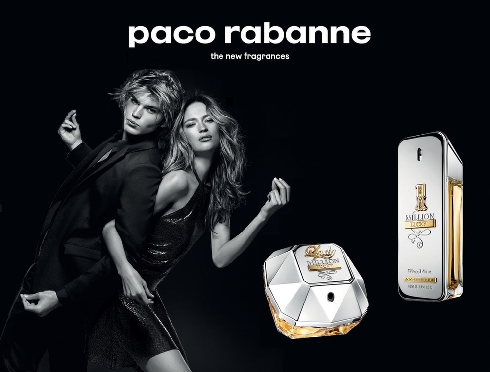 Новые ароматы 1 Million Lucky и Lady Million Lucky от Paco Rabanne