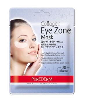 Purederm Коллагеновая маска для области вокруг глаз 30 шт