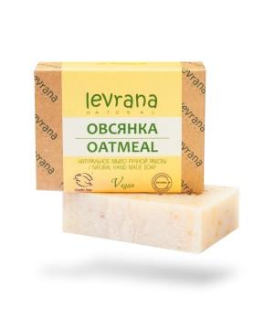 """Levrana Натуральное мыло ручной работы """"Овсянка"""" 100 г"""