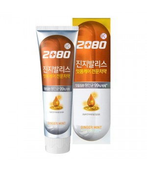 Dental Clinic 2080 K Ginger Mint Зубная паста с экстрактом Гинкго билоба и имбирем 120 мл