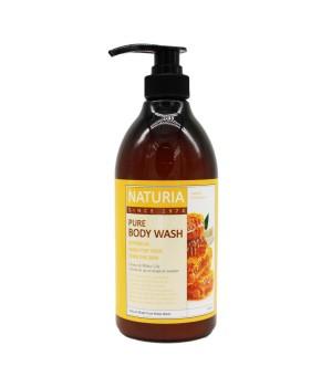 "Naturia Гель для душа ""Мёд и лилия"" Pure Body Wash Honey & White Lily 750 мл"