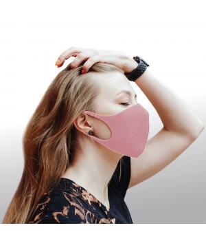 Dizao 3D Fashion Mask Многоразовая защитная маска (розовая)