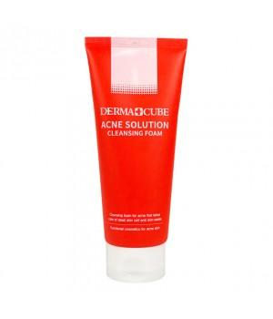 Farmstay Пенка для умывания для проблемной кожи Derma Cube Acne Solution Cleansing Foam 180 мл