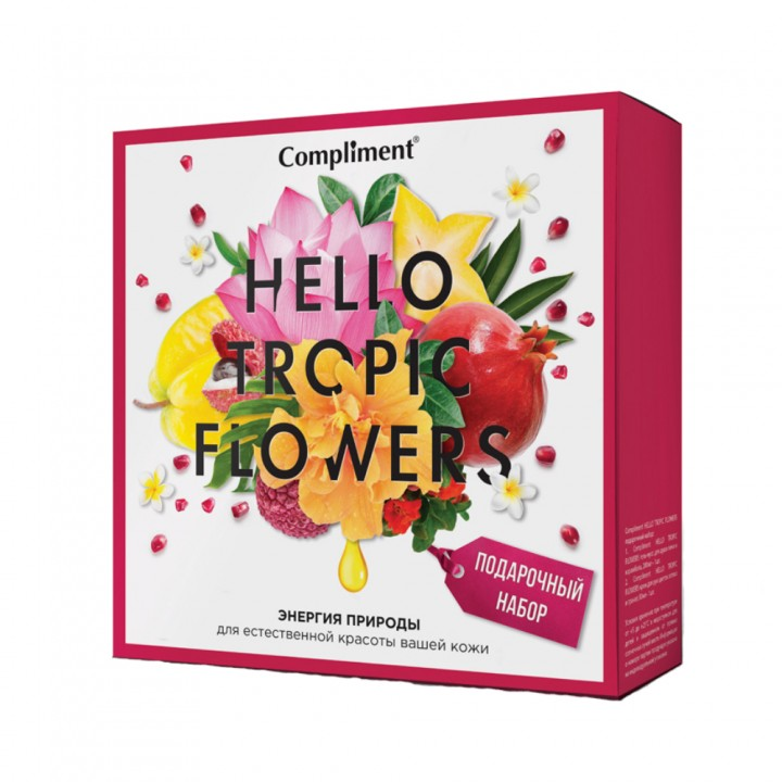 Compliment Hello Tropic Flowers ПН №1401
