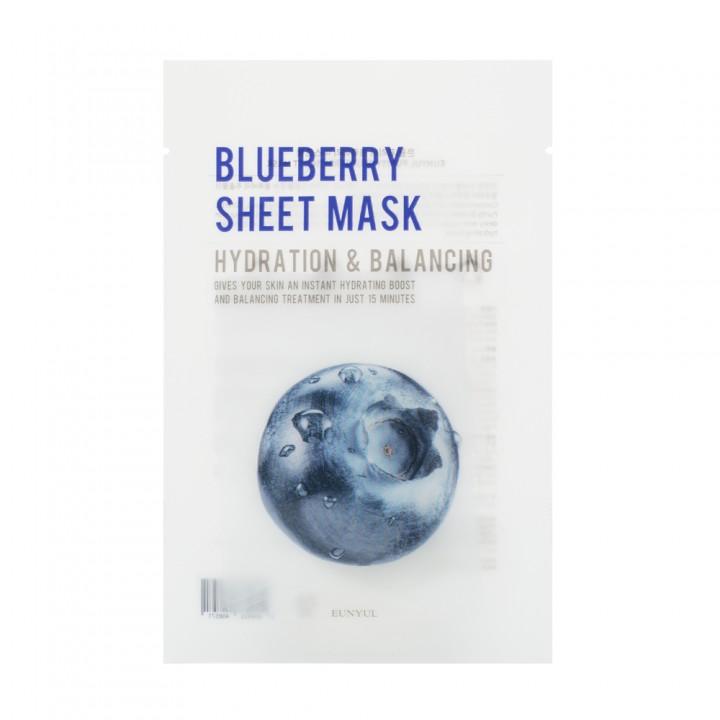 Eunyul Тканевая маска с экстрактом черники 22 мл