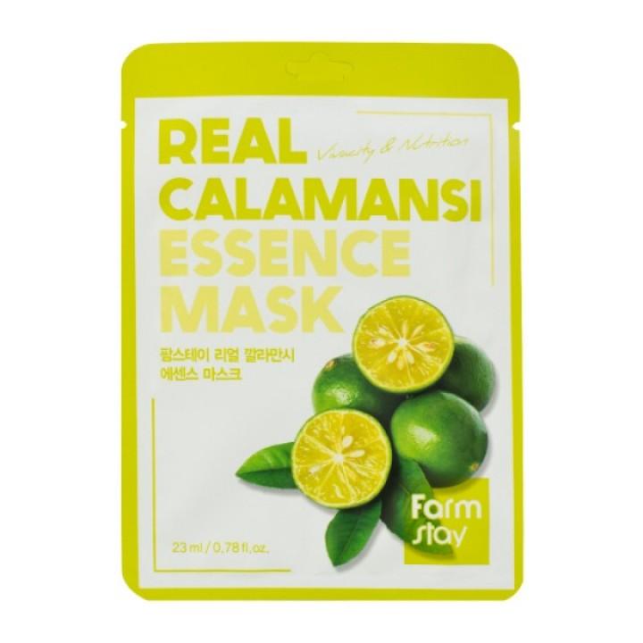Farmstay Тканевая маска для лица с экстрактом каламанси 23 мл