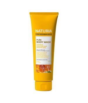 "Naturia Гель для душа ""Мёд и лилия"" Pure Body Wash Honey & White Lily 100 мл"
