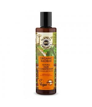 "Planeta Organica Bio Organic Baobab Бальзам для волос ""Африканская густота и гладкость"" 280 мл"
