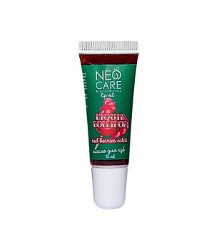 Levrana Neo Care Масло для губ «Liquid lollipop» red berries éclat 10 мл