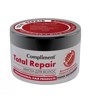 """Compliment Маска для волос """"Total Repair"""" для поврежденных, ломких и сухих волос 500 мл"""