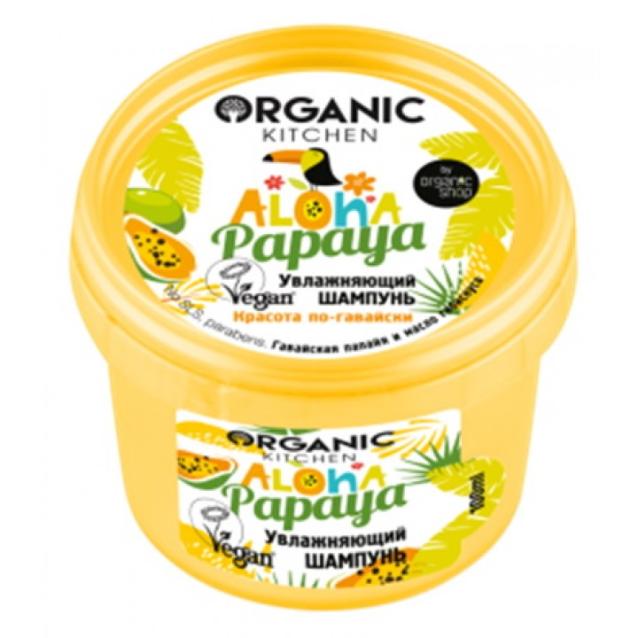 "Organic Kitchen Шампунь для волос ""Увлажняющий"" 100 мл"