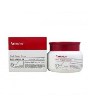Farmstay Крем для лица восстанавливающий с экстрактом улитки Snail Repair Cream 100 мл