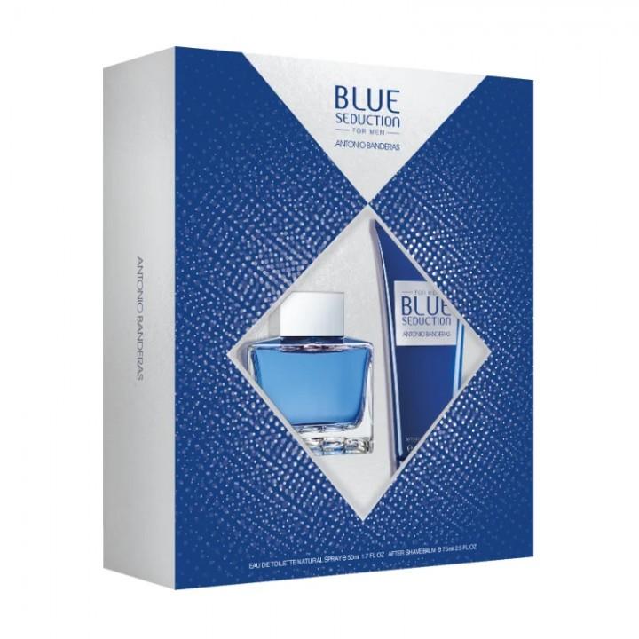 Antonio Banderas Blue Seduction Men М Подарочный набор