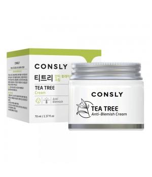 Consly Крем для проблемной кожи лица с экстрактом чайного дерева 70 мл