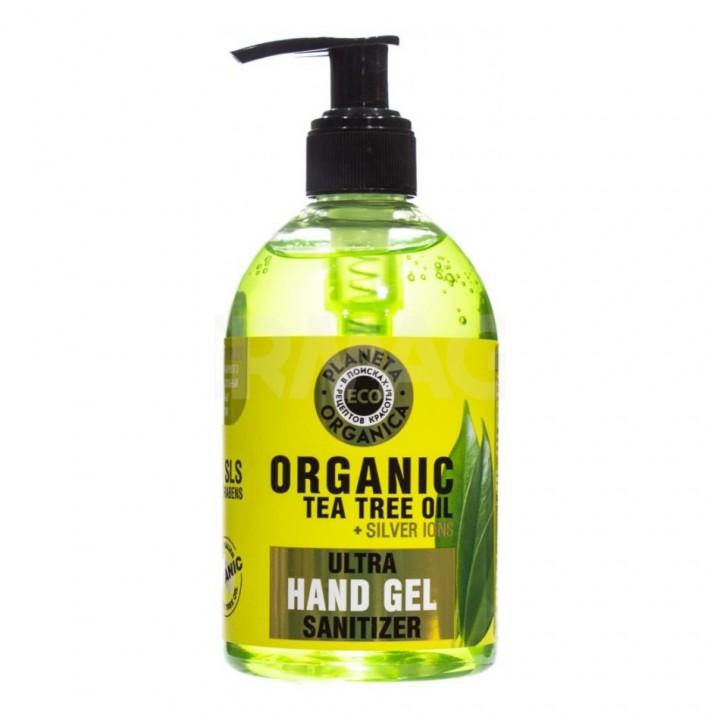 """Planeta Organica Eco Универсальный гель для рук """"Organic tea tree oil"""" 300 мл"""