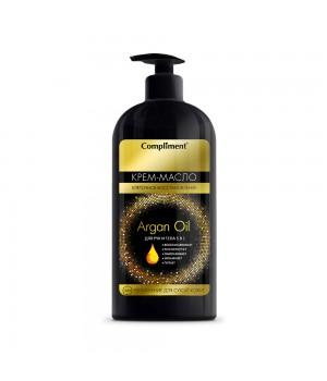 Compliment Argan Oil Крем-масло для рук и тела 400 мл