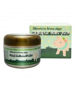 Elizavecca Маска для лица коллагеновая Green Piggy Collagen Jella Pack 100 мл