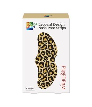 """Purederm Очищающие полоски """"Леопард"""" 20 г"""