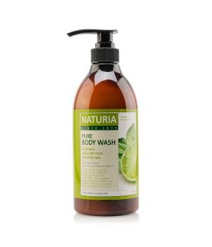 "Naturia Гель для душа ""Мята и лайм"" Pure Body Wash Wild Mint & Lime 750 мл"