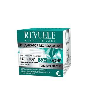 Revuele Восстанавливающий ночной комплекс-крем для лица 30+ 50 мл