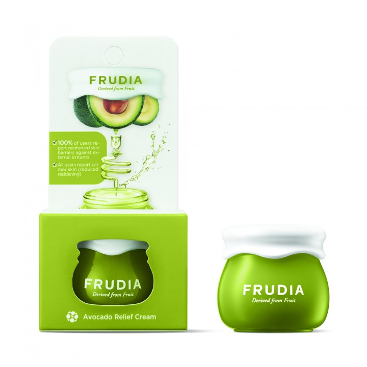 Frudia Восстанавливающий крем для лица с авокадо 10 мл