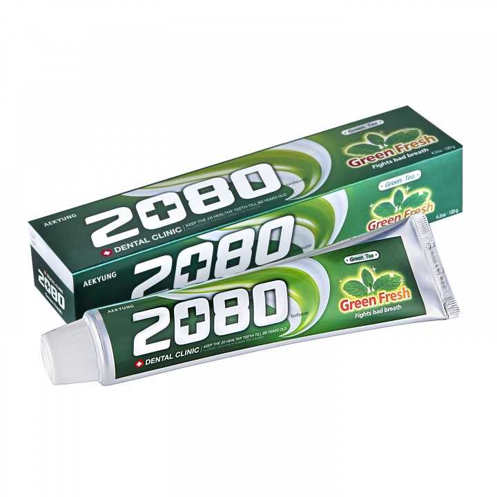 "Dental Clinic 2080 Basic Зубная паста ""Зеленый чай"" 120 мл"