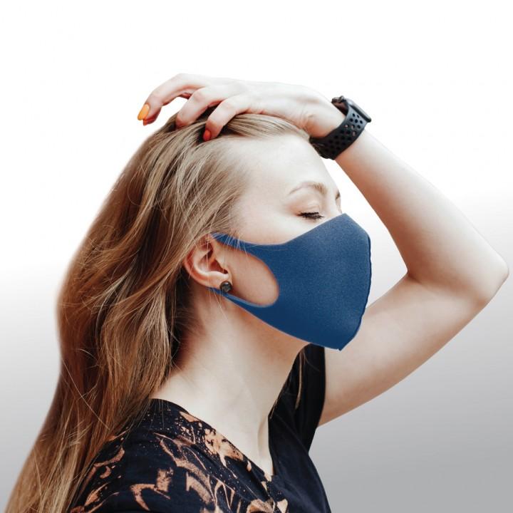 Dizao 3D Fashion Mask Многоразовая защитная маска (синяя)