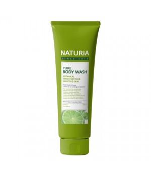 "Naturia Гель для душа ""Мята и лайм"" Pure Body Wash Wild Mint & Lime 100 мл"