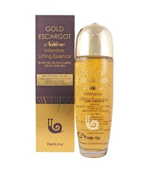 Farmstay Эссенция с экстрактом королевской улитки и золотом Gold Escargot Noblesse Intensive Lifting Essence 150 мл