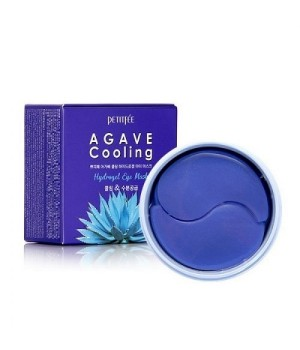 Petitfee Патчи для век гидрогелевые с экстрактом агавы Agave Cooling Hydrogel Eye Mask 60 шт