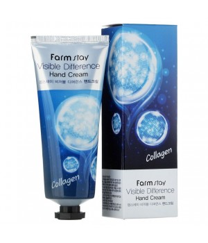 Farmstay Крем для рук с коллагеном Visible Difference Collagen Hand Cream 100 мл