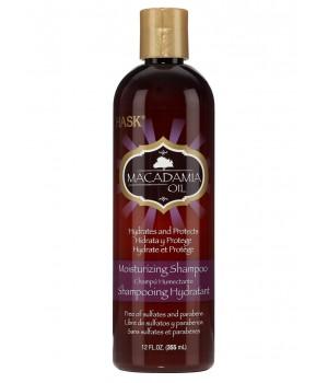 Hask Увлажняющий шампунь для волос с маслом макадамии 355 мл
