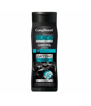 """Compliment Black Professional Шампунь для волос """"Активный уголь"""" 250 мл"""