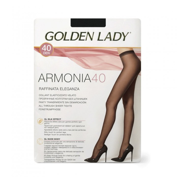 Golden Lady Колготки Armonia 40 Nero 5