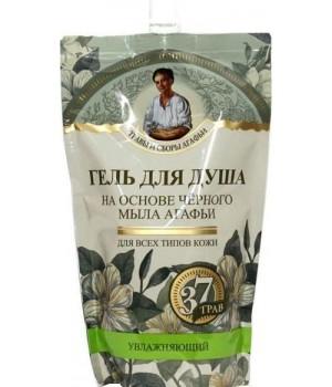 Травы и сборы Агафьи Гель для душа на основе черного мыла Агафьи 500 мл (дойпак)