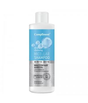 Compliment Bio-protein+Keratine Мицеллярный шампунь для волос 400 мл
