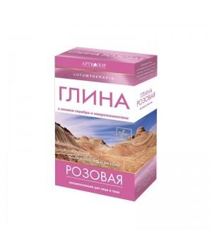 Артколор Lutumtherapia Глина косметическая розовая 100 г