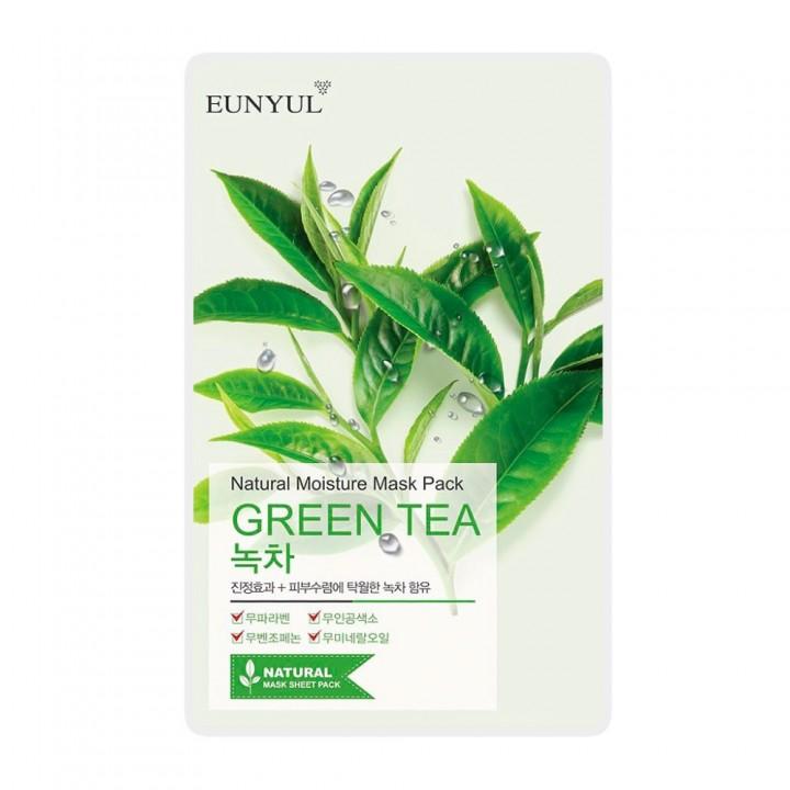 Eunyul Маска тканевая с экстрактом зеленого чая 22 мл