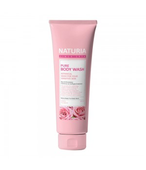 "Naturia Гель для душа ""Роза и розмарин"" Pure Body Wash Rose & Rosemary 100 мл"