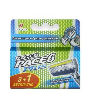 Dorco Pace 6 Plus Сменные кассеты 4 шт. SX A5040P