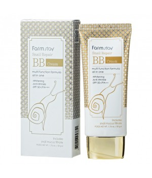 Farmstay BB крем для лица с муцином улитки Snail Repair BB Cream 50 мл