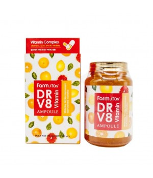 Farmstay Сыворотка с витаминным комплексом DR-V8 Vitamin Ampoule 250 мл