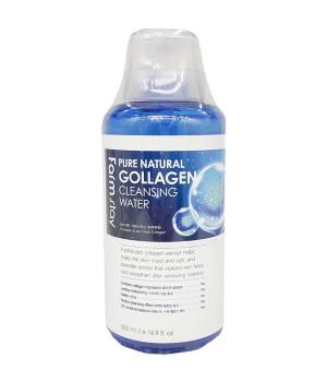 Farmstay Очищающая вода для лица с коллагеном Pure Cleansing Collagen Water 500 мл
