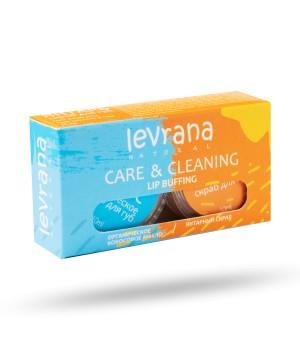 Levrana Органическое кокосовое масло 10 мл + янтарный скраб для губ 10 мл