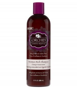 Hask Шампунь для ультра-увлажнения волос с экстрактом орхидеи и маслом белого трюфеля 355 мл