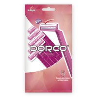 Dorco Одноразовый бритвенный станок 5 шт. TG708W-5P