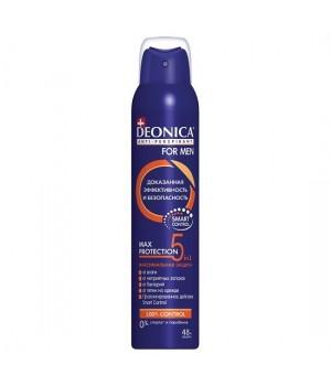 Deonica For Men Антиперспирант-спрей Max Protection 5в1 200 мл