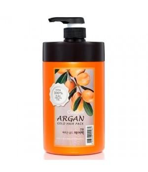 Welcos Confume Argan Gold Hair Pack Маска для волос с маслом арганы и золотом 1000 мл