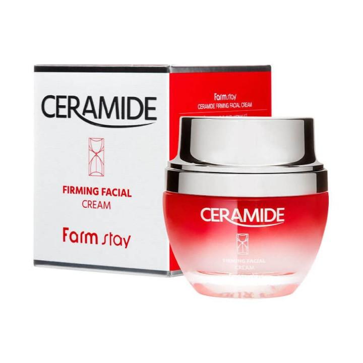 Farmstay Укрепляющий крем для лица с керамидами Ceramide Firming Facial Cream 50 мл
